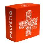 Schweizer Spiel Helvetiq rote Spielschachtel