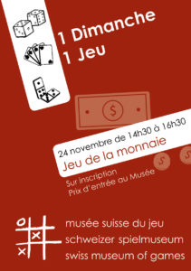[:fr]1 Dimanche, 1 Jeu - Le jeu de la monnaie[:en]1 Sunday, 1 Game - The game of money[:de]Das Sonntagsspiel - Das Geldspiel[:]