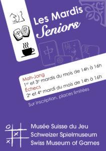 Les Mardis Seniors (suspended until further notice)