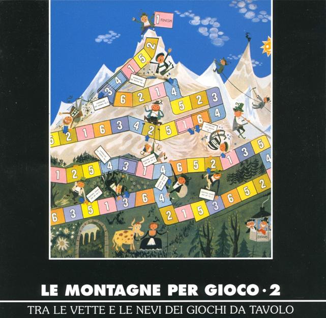 (English) Le montagne per gioco 2nd edition board game to the mountain topLe montagne per gioco 2. Ausgabe Brettspiel bis zum Berggipfel