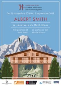 Albert Smith. The spectacle of Mont Blanc